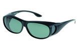 Fitover Overzetzonnebril Sonnenüberbrille Uni