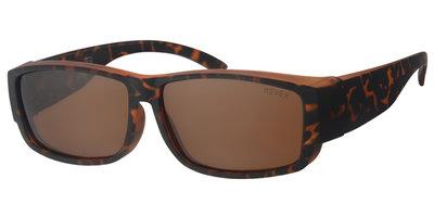 Sonnenüberbrille Cover havanna (l/xl)
