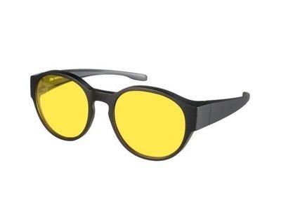 Nachtfahrüberbrille round 22 (M)
