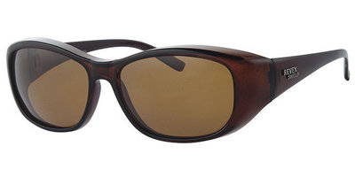 Overzet zonnebril Sonnen Überbrillen shield Plus brown
