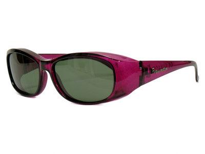 Overzet zonnebril Sonnen Überbrillen Shield Lila