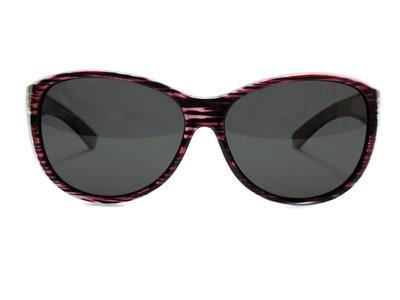 Overzet zonnebril Sonnen Überbrillen Shield Plus Purple (Model: POL506)